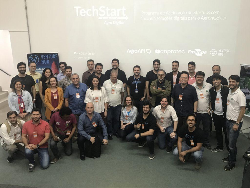 Imagem techstart Embrapa VEnture Hub